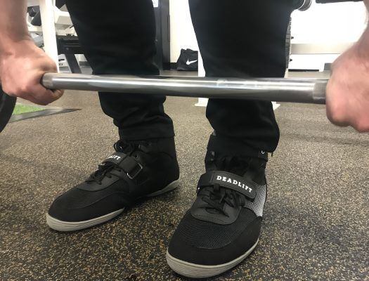SABO Deadlift Shoes - Conventional Deadlift Setup Position