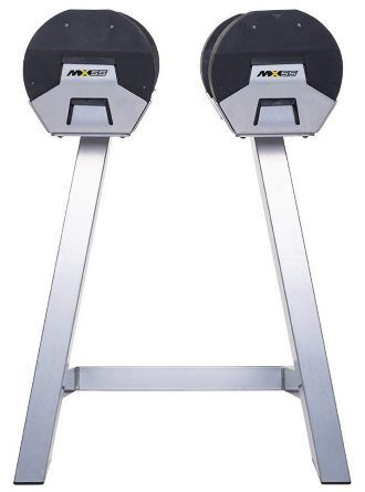 MX Select MX55 Adjustable Dumbbell Set with Stand - 2