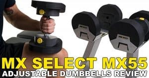 MX Select MX55 Adjustable Dumbbells Review
