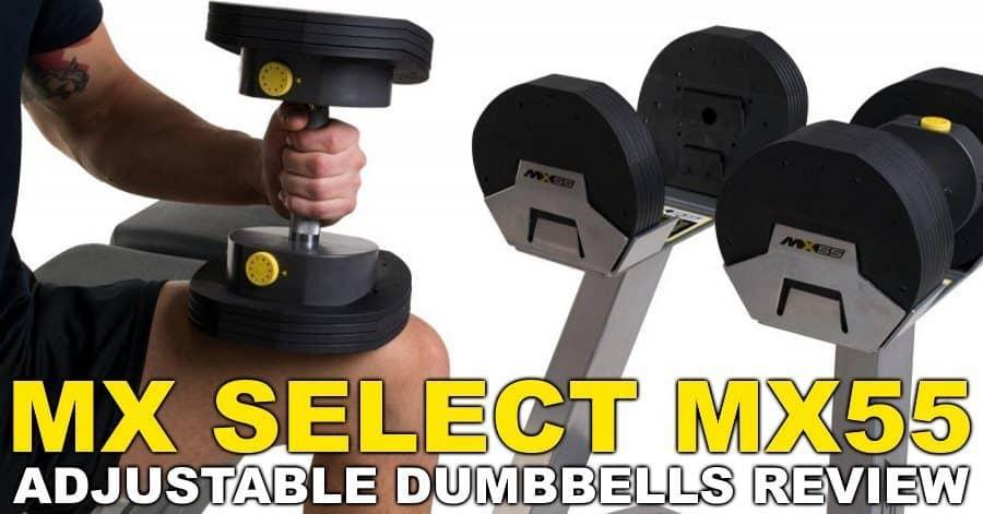 MX Select MX55 Adjustable Dumbbells Review