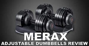 Merax Deluxe Adjustable Dumbbells Review