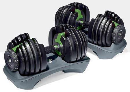 1UP Adjustable Dumbbell Set - 2