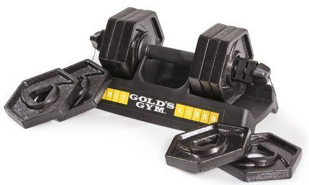 Gold's Gym Speedlock Dumbbell Set