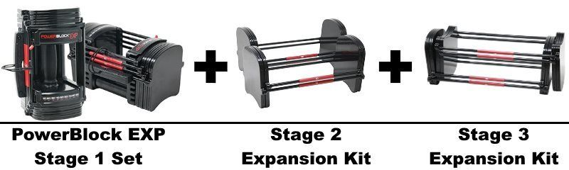 PowerBlock EXP Stage 3 Set