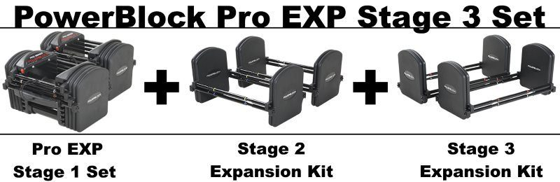 PowerBlock Pro EXP Stage 3 Set
