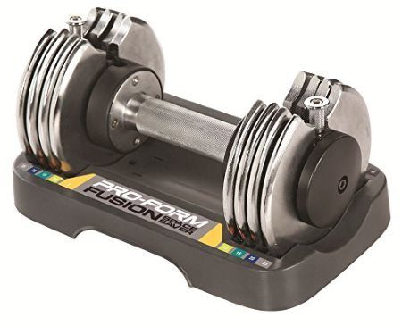 ProForm Adjustable Dumbbell Set