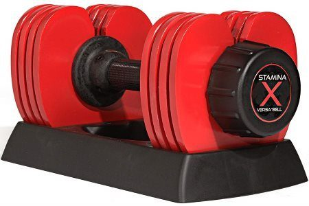 Stamina X Versa-Bell Adjustable Dumbbell Set