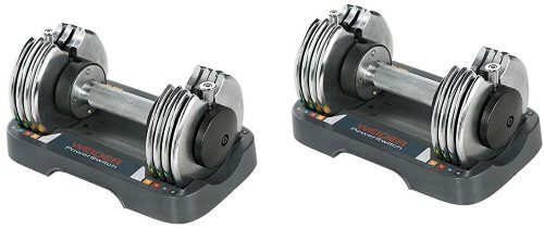 Weider SpeedWeight-PowerSwitch Adjustable Dumbbell Set - Pair
