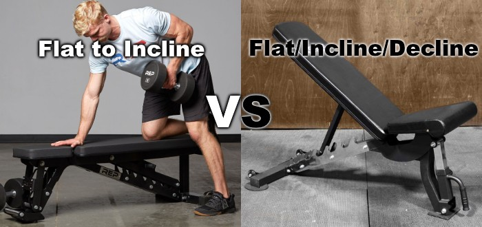 Flat to Incline Bench vs FID Bench