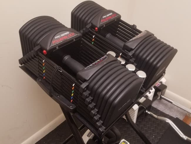 PowerBlock Pro EXP Stage 3 Dumbbells - 5-90 Lbs