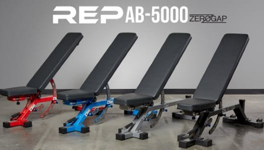 Rep AB-5000 Zero Gap Adjustable Bench - All Colors