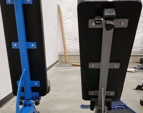Back Pad Frame on Rep AB-5000