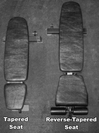 Tapered Seat vs Reverse-Tapered Seat