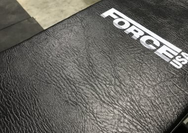 Textured Vinyl on Force USA Commercial FID Bench
