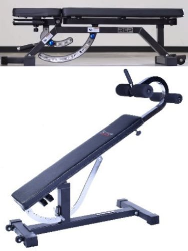 The Only 2 No-Gap Adjustable Benches - Rep AB-5000 and Ironmaster Super Bench Pro