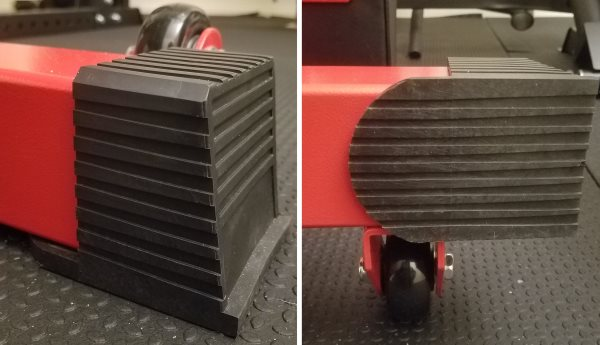 Robust Rubber Pads on the Rear Feet of the Rep FB-5000