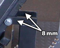 Pivot Bolt Plate Thickness
