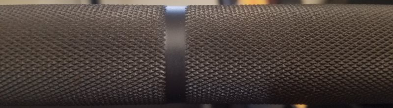Outer Knurl on Vulcan Absolute Power Bar