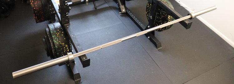 Rep Stainless Steel Deep Knurl Power Bar EX
