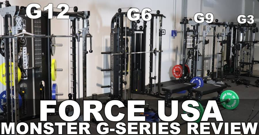 Force USA Monster G3 G6 G9 and G12 All-In-One Home Gym Reviews