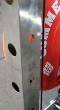 Laser Engraved Numbering on Force USA G-Series