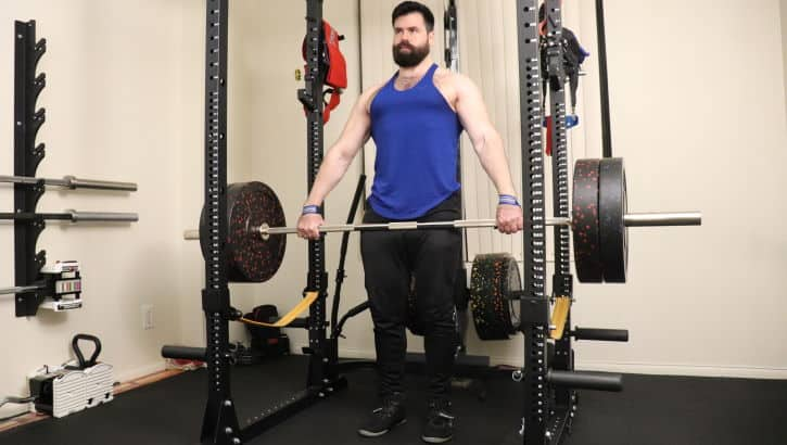 Snatch Grip Rack Pull - Concentric