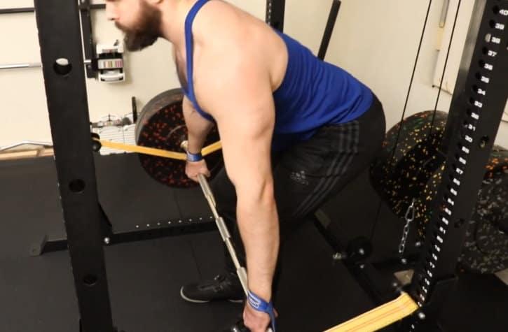 Snatch Grip Rack Pull - Eccentric