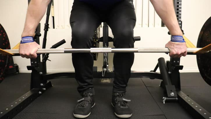 Snatch Grip Rack Pull - Setup - Grip Width and Stance Width