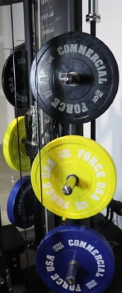 Force USA G12 Weight Storage