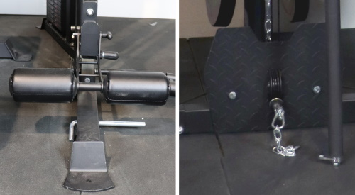 Cable Low Rows Using the Monster G6 Leg Holder Pad and Monster G9 Metal Foot Plate