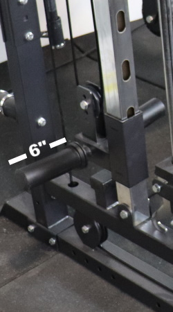 Monster G3 Pulley Weight Peg Length