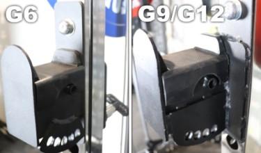 Monster G6 J-hooks vs Monster G9 and G12 J-hooks (2)