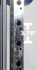 Monster G6 Power Rack Hole Spacing
