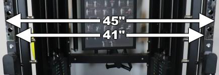 Monster G6 Power Rack Width Dimensions