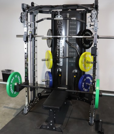 Monster G12 All-In-One Gym - Whats Included