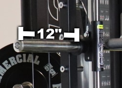 Force USA G12 Smith Machine Sleeve Length