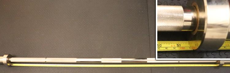 Kabuki Strength Power Bar - Shaft Length Measurement
