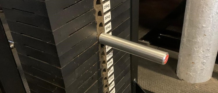 1 Inch Gym Pin for Standard Plates