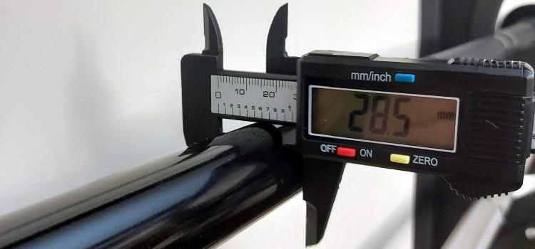 28.5mm Barbell Shaft on Multipurpose Barbell