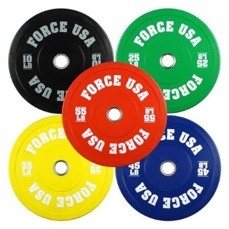 Force USA Bumper Plates