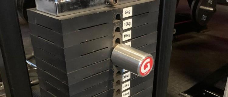 The MiniPin - Extra Short Gym Pin