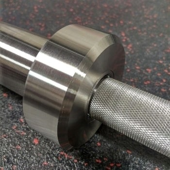 Vulcan Absolute Stainless Steel Powerlifting Bar Shaft and Sleeve Collar