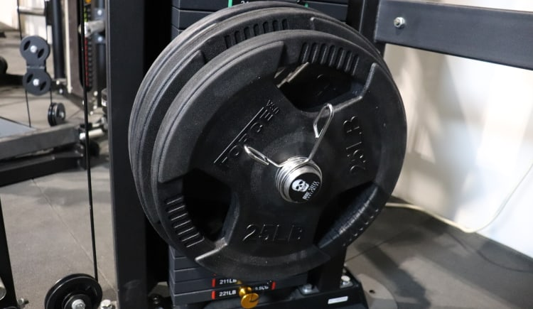 Bare Steel Equipment Stacked Weight Pin with 95 lbs