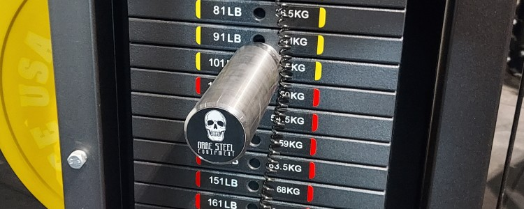 Bare Steel Equipment Stacked Weight Pin