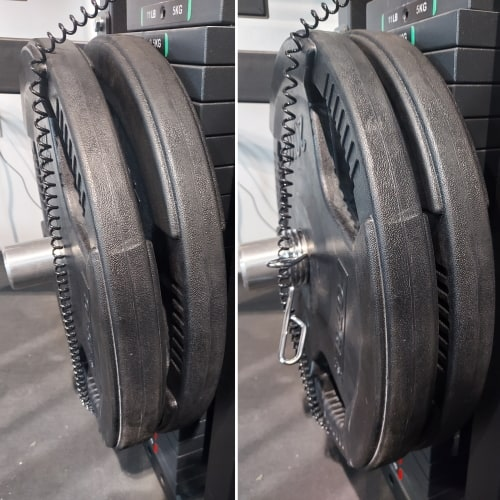 Prevent Plates from Sliding on the Gym Pin with a Barbell Collar