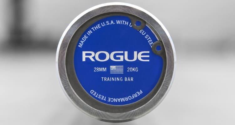 Rogue 28mm Training Bar - End Cap