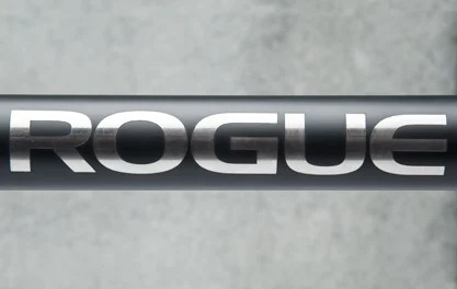 Rogue Chan Bar - Rogue Logo on Cerakote Shaft