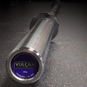 Vulcan Professional Olympic Barbell - Sleeve with End Cap