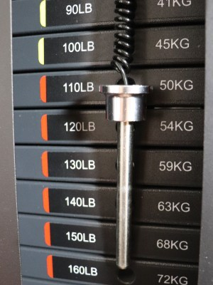 Weight Stack Selector Pin