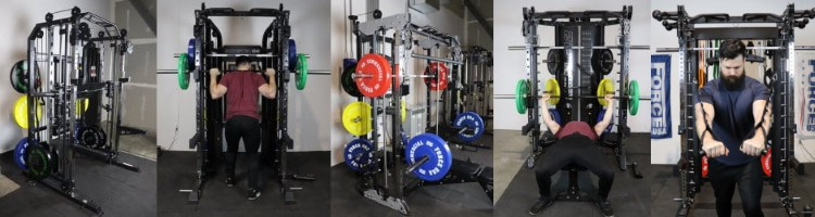 Force USA G20, G12, G9, G6 and G3 All-In-One Gyms